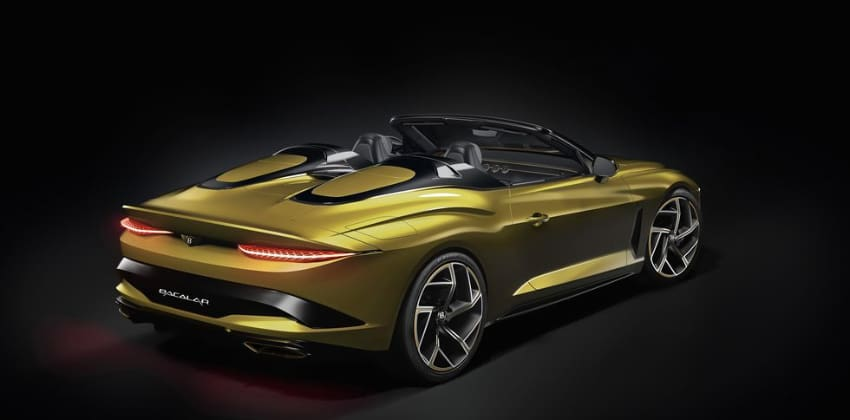 Bentley Bacalar Randwick ,Gold exterior