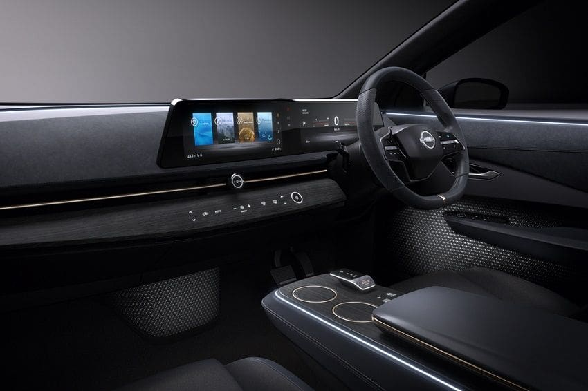 Nissan Rejects Idea of Putting a Tablet Inside Ariya Concept