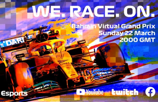 Here's What Happened at the F1 Esports Virtual Grand Prix Last Sunday