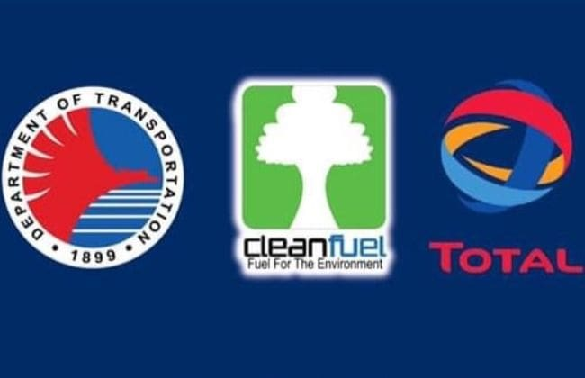 Cleanfuel, Total Gives Fuel Subsidy for DOTr's Free Ride for Health Workers