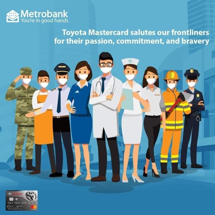 TMP Metrobank Covid Petron