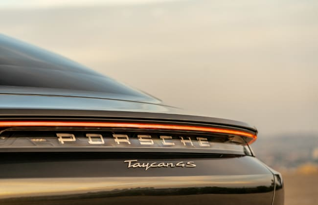 2020 Porsche Taycan 4S Now Available in US