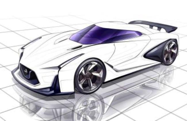 Nissan's #DrawDrawDraw
