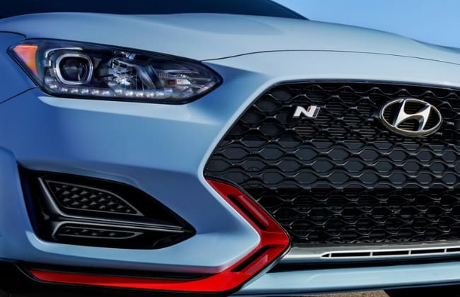 This is the 2020 Hyundai Veloster N