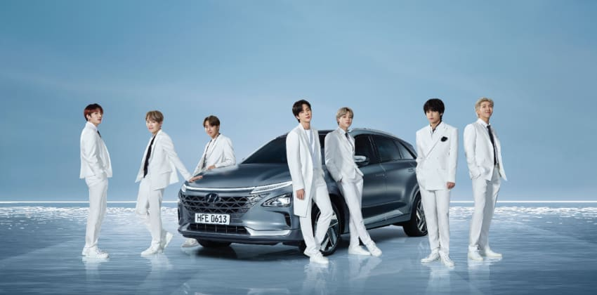 BTS and Hyundai collaborate in Global Hydrogen Campaign