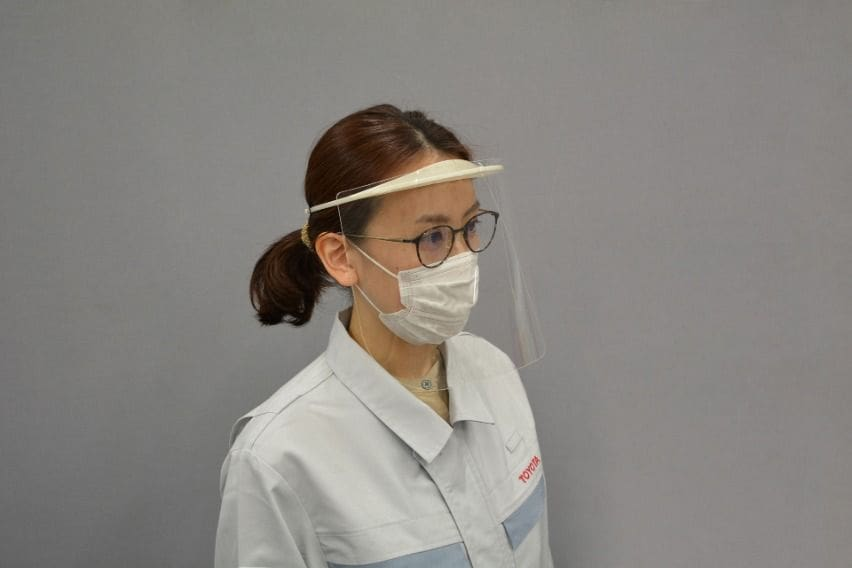 Toyota to Produce Medical Face Shields