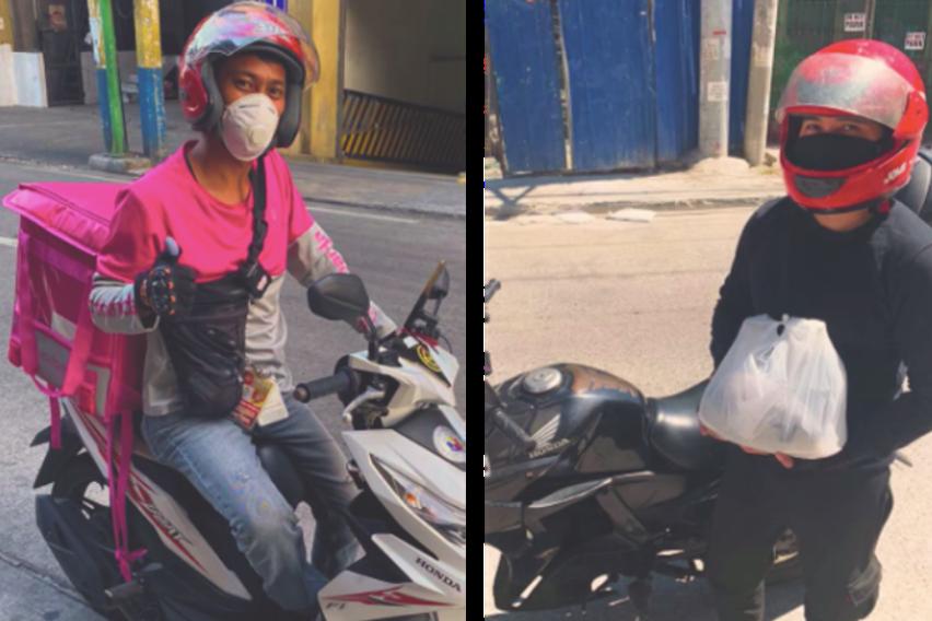 Honda motorcycle delivery