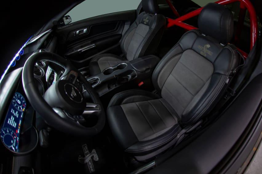 2020 Super Shelby interior