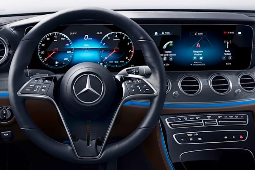 Mercedes Benz E Class steering wheel