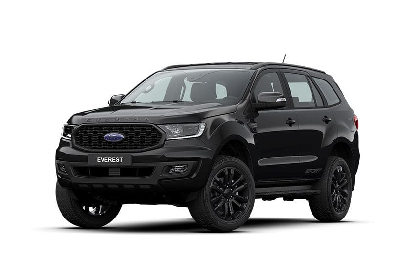Ford Everest Sport black