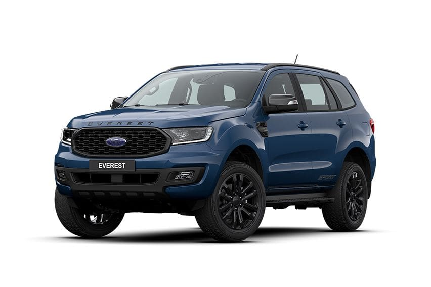 Ford Everest Sport unveiled digitally, Everest Titanium trims get upgrades