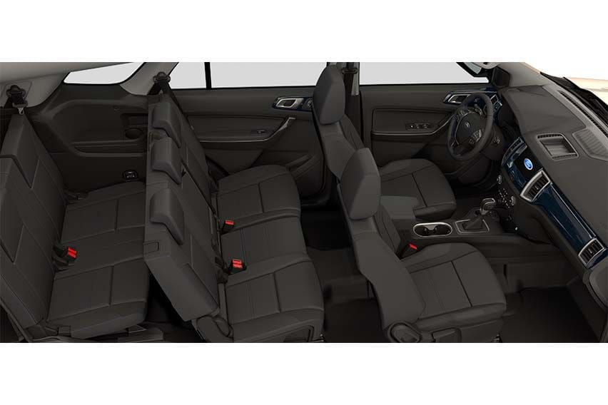 Ford Everest Sport cabin