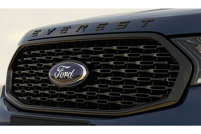 Ford Everest Sport grille