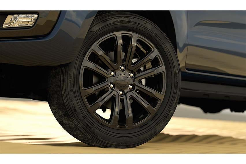Ford Everest Sport wheel