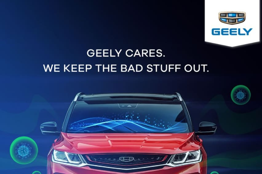 Upcoming Geely Azkarra will have N95 air filtration system