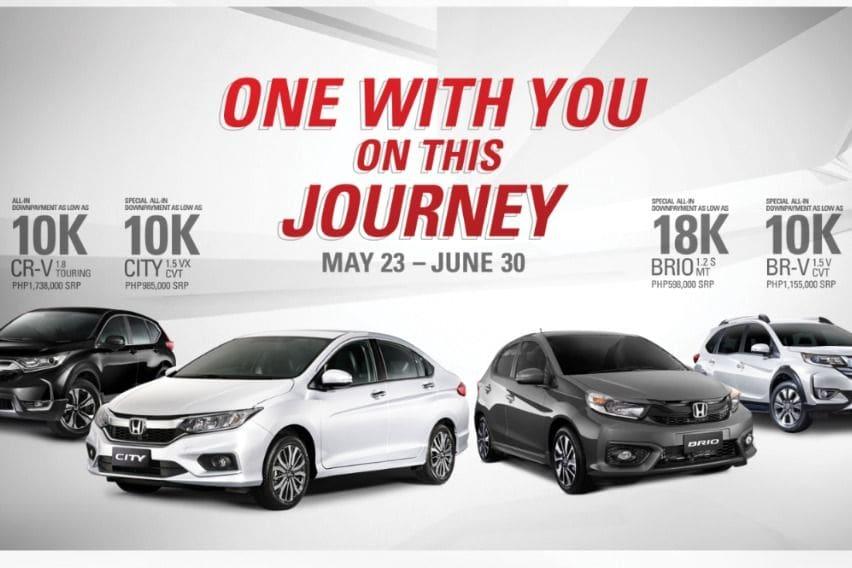 Honda announces latest promo amid COVID-19 pandemic