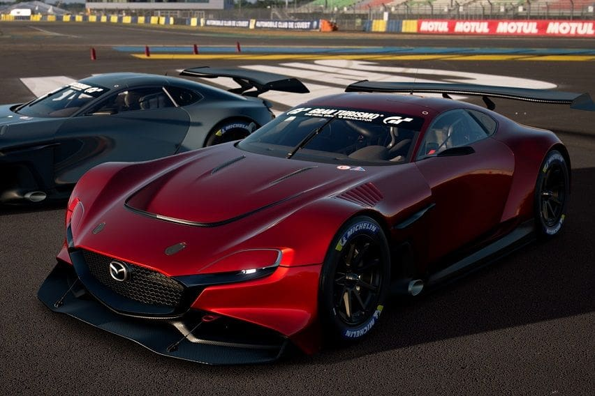 Mazda RX-Vision GT3 Concept now available — virtually