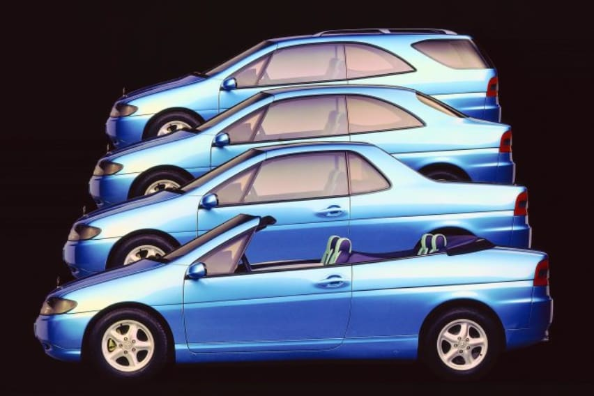 Four cars in one – the Vario Research Car