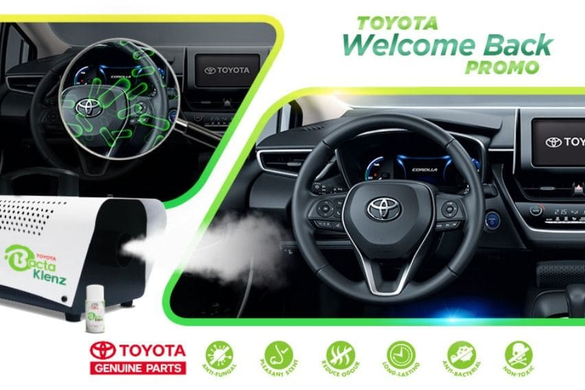 Toyota can take care of your vehicles inside out