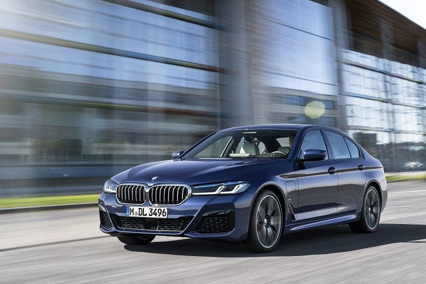 BMW updates 5-Series, adds electrified powertrain options
