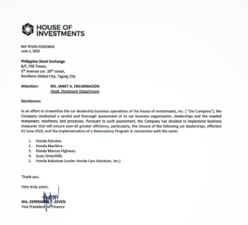 House of Investments PSE Yuchengco Group of Companies