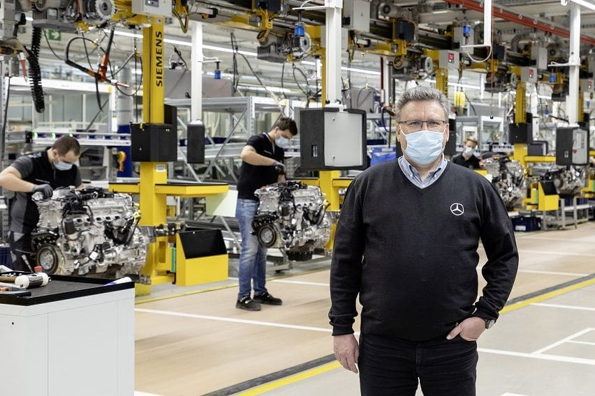 Mercedes-Benz production plants inch toward return to normalcy
