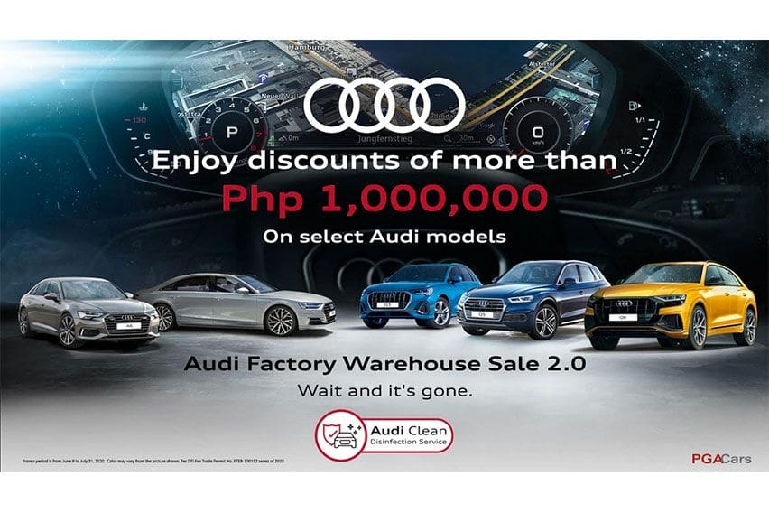Audi PH holds factory warehouse sale anew