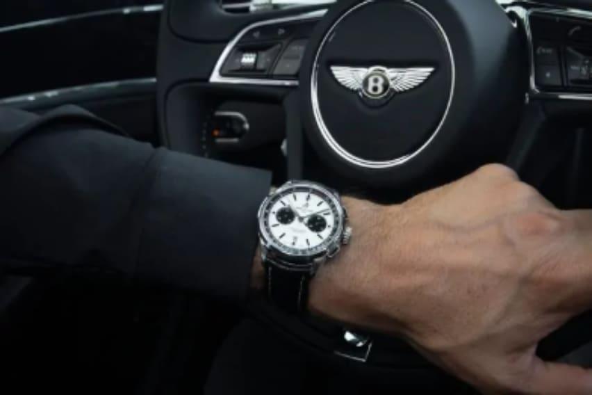 Breitling watch with Bentley