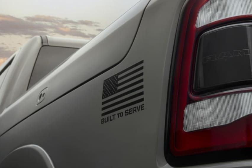 """""""Built to Serve"""" Ram Special Edition"""