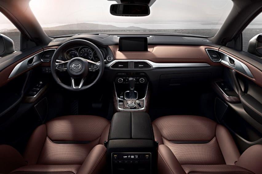 Cx-9 interior