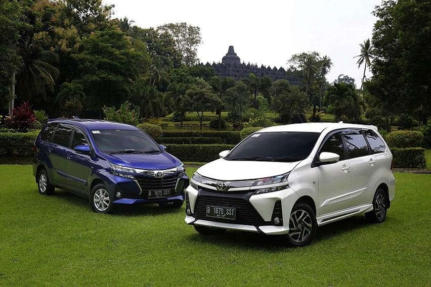 Old against new: 2019 vs. 2020 Toyota Avanza