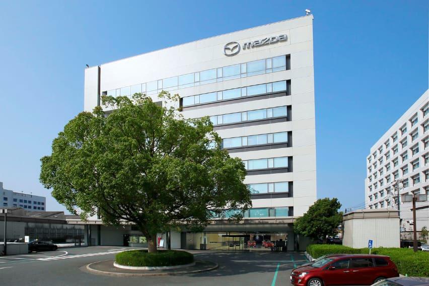 Mazda production plant