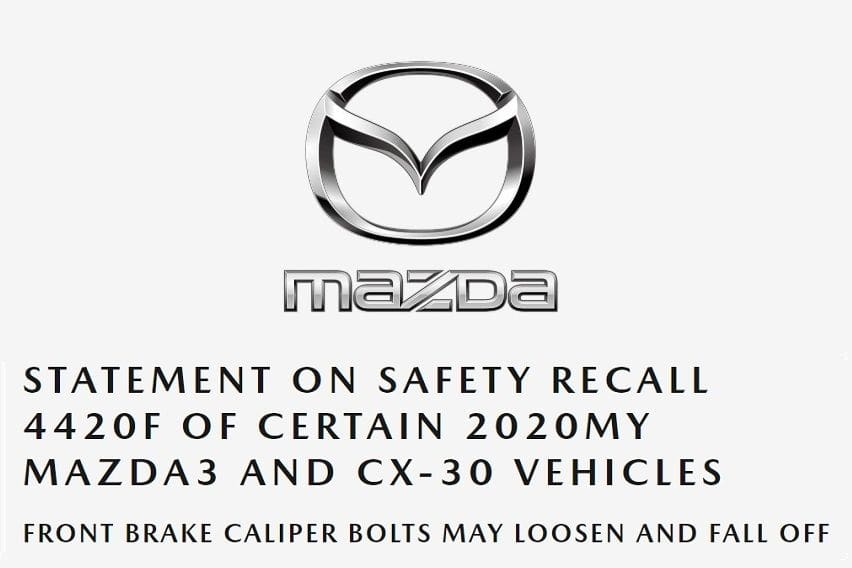 PH models unaffected by latest Mazda recall in US