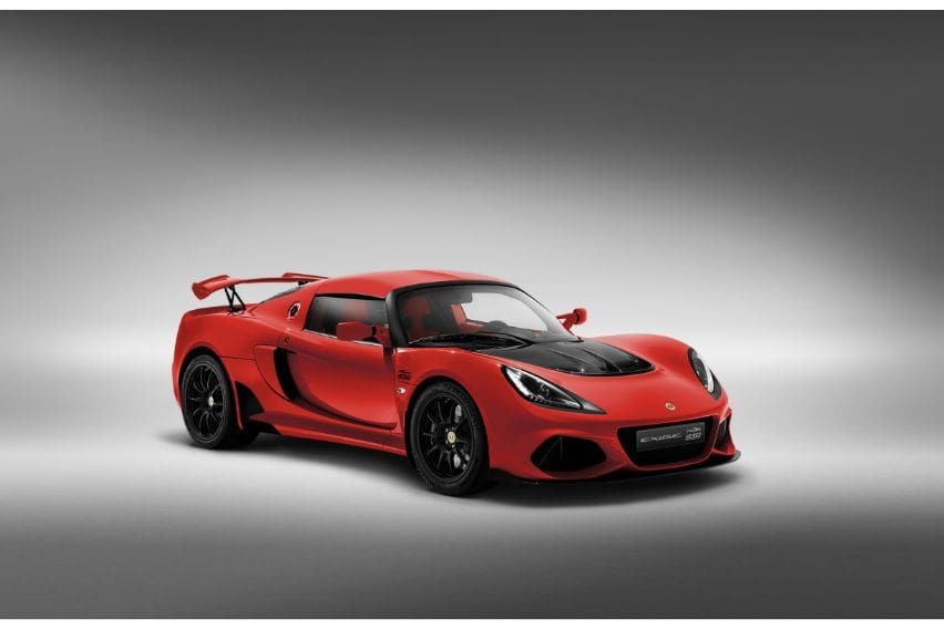 Lotus releases 20th anniversary-edition Exige Sport