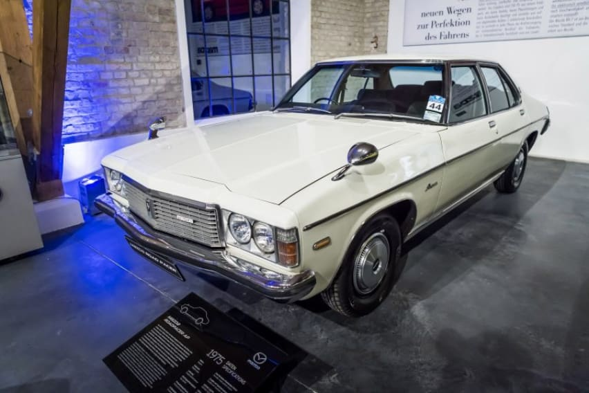 Mazda cars in history