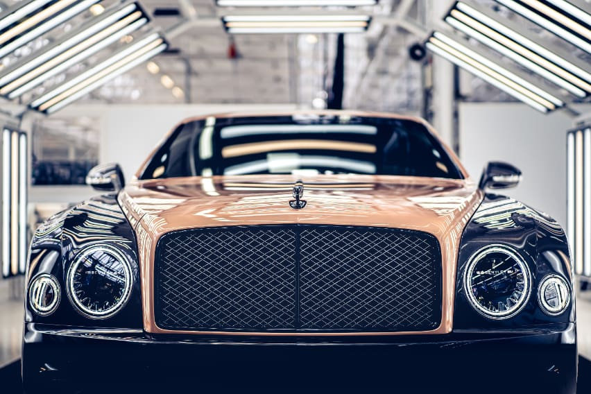 The Bentley Mulsanne bids its final farewell