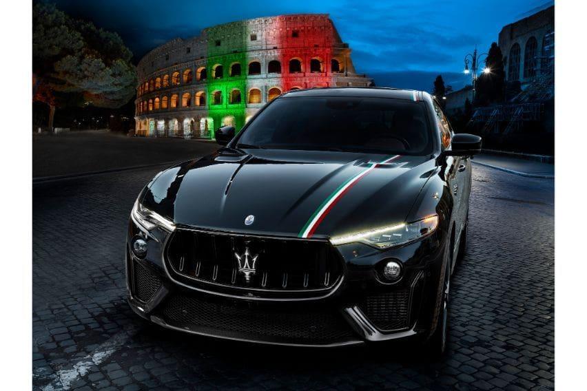 Maserati Levante, Trofeo tri-color trim pays homage to Italy