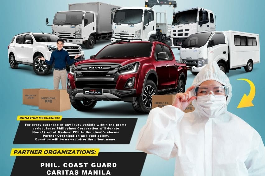Isuzu PH enables customers to donate PPE thru \'Isuzu Kasama Mo\' campaign