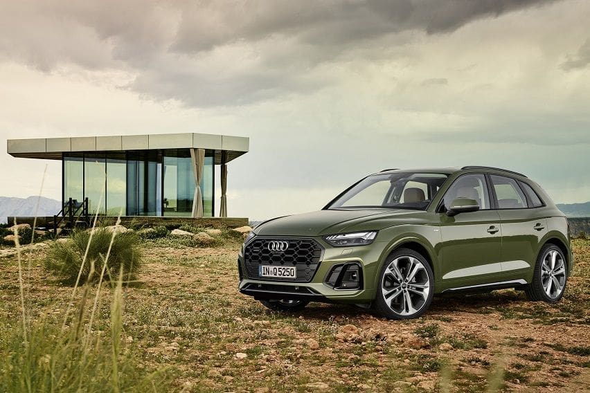 Audi gives the Q5 compact SUV a stylish facelift for 2021
