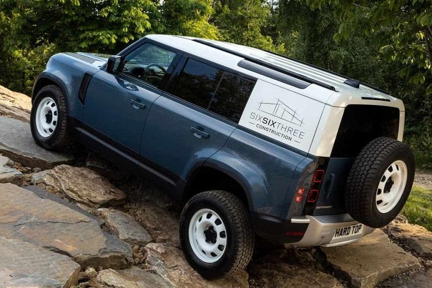 Land Rover builds new commercial Defenders, brings back Hard Top name