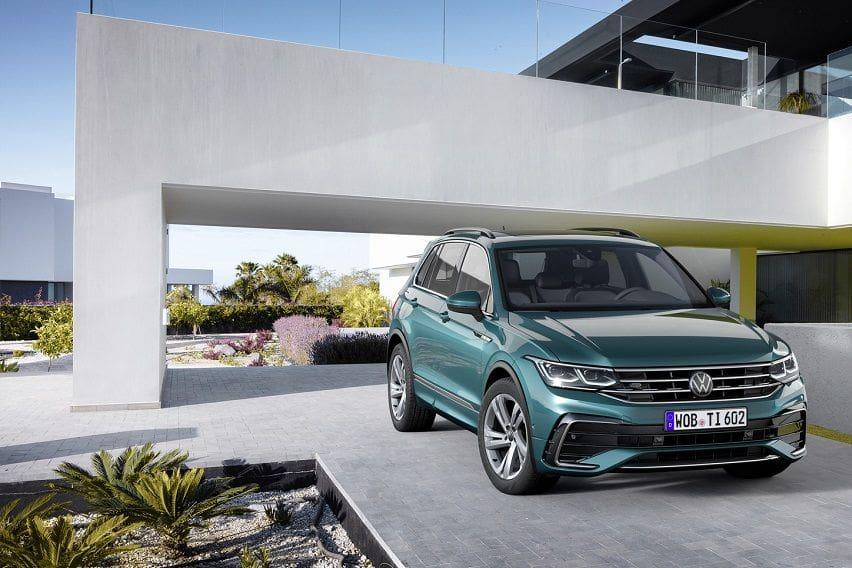 The 2021 Volkswagen Tiguan makes its world debut