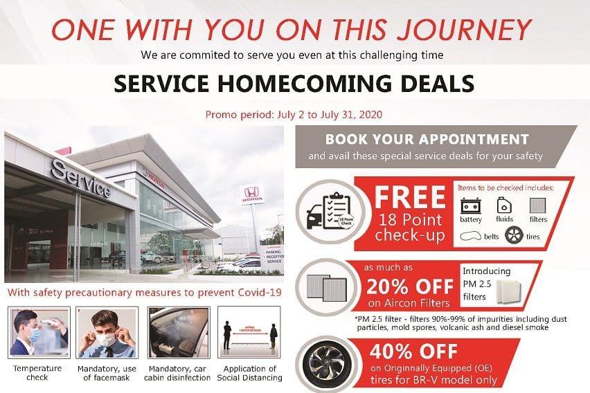 hcpi service homecoming deals