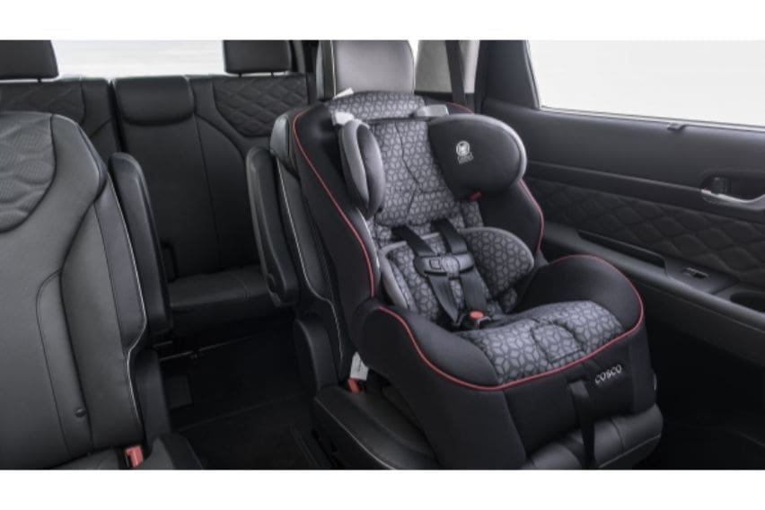 Hyundai backseat