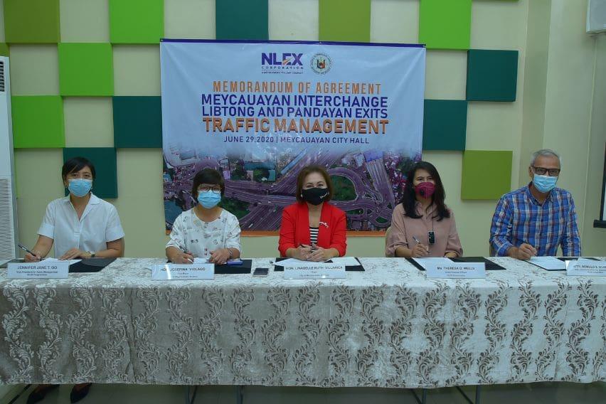 NLEX, Meycauayan LGU ink traffic management deal