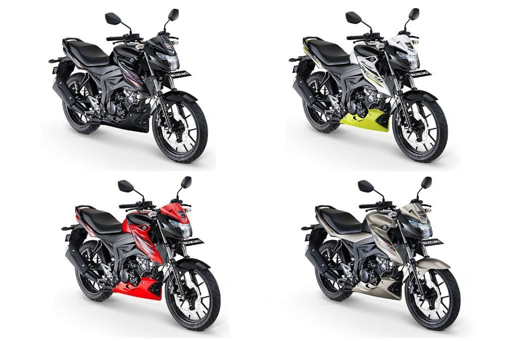 Suzuki GSX150 Bandit colors