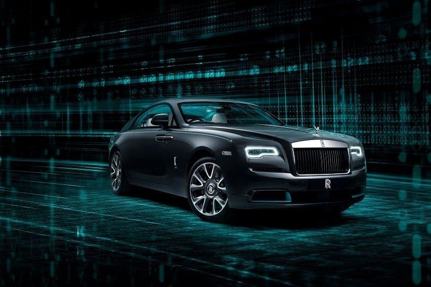 Rolls-Royce targets rich codebreakers with limited edition Wraith Kryptos