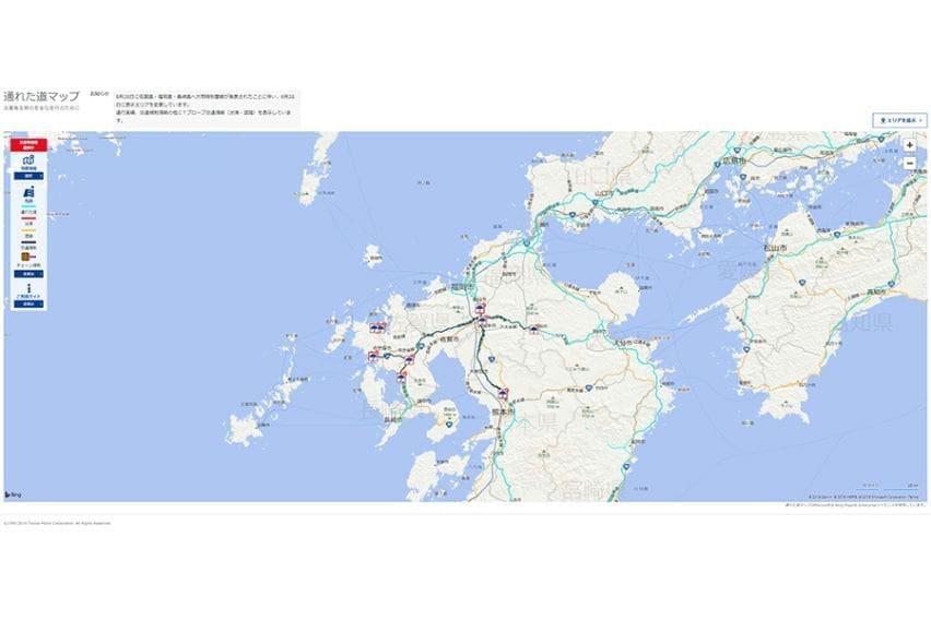 Toyota Map