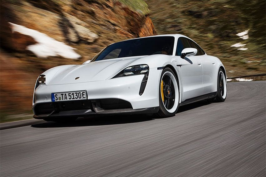 Fully electric Porsche Taycan is now in PH