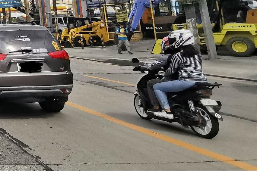 Motorcycle backride