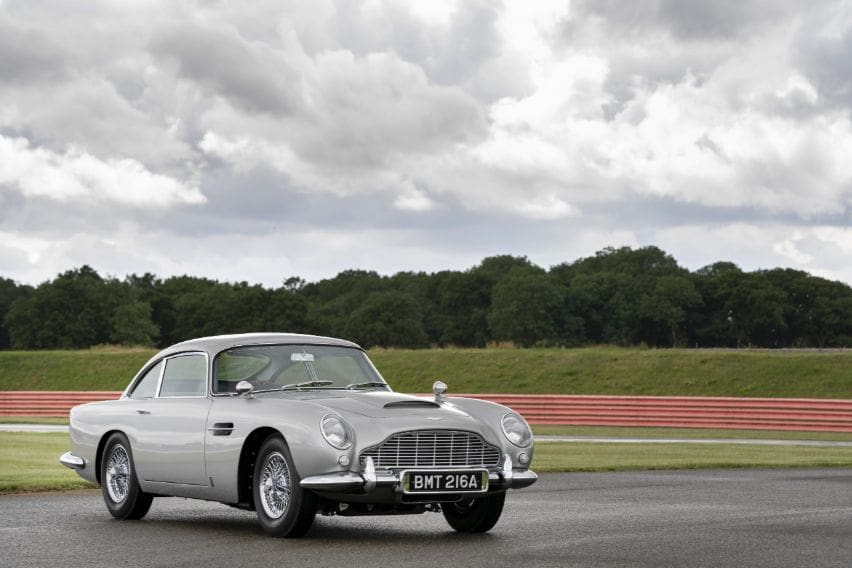 The Aston Martin DB5 returns after 50 years